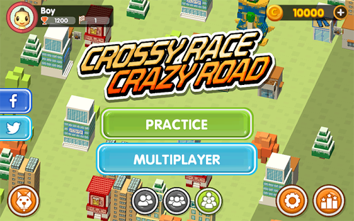 Crossy Race Crazy Road