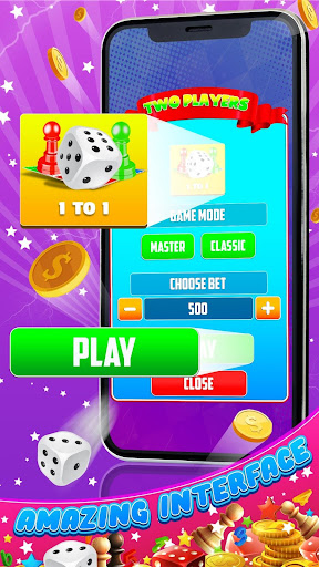 King of Ludo Dice Game with Voice Chat apkpoly screenshots 2