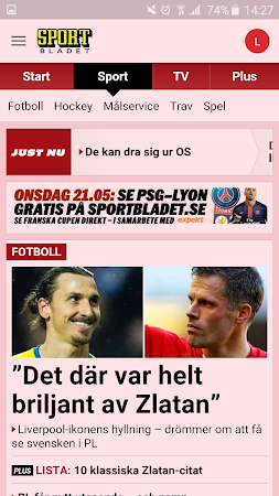 Aftonbladet 4.0.40 screenshot 623612