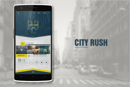 City Rush Theme for Zooper