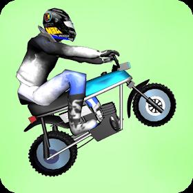 Wheelie Challenge 2D - motorbike wheelie challenge