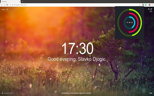 Polar Clock