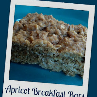 Yummy Apricot Breakfast Bars