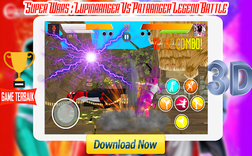 Super Wars : Lupin Vs Patra Legend Battle Apk Latest Version Download For Android 3