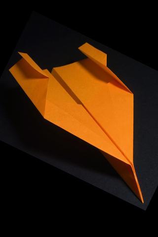 종이 비행기 종이 접기