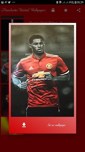 Manchester United HD wallpapers (OFFLINE) screenshot 3