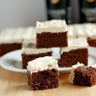 Guinness Chocolate Fudge Cake with Guinness Ganache Recipe