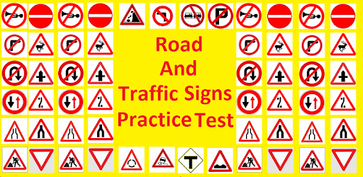 street signs for drivers ed