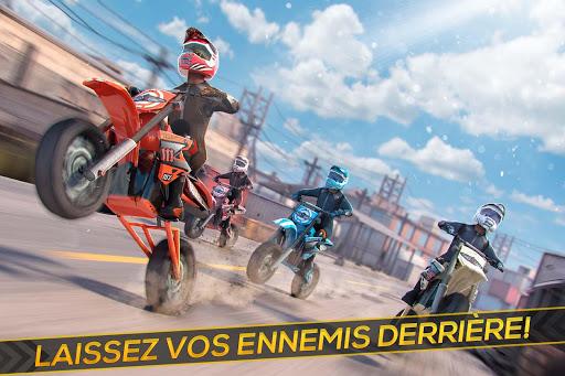 Télécharger Moto Cross Extrême Freestyle -  Réal Motor Courses  APK MOD (Astuce) screenshots 1