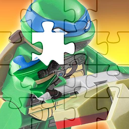 Ninja puzzle Turtle Game