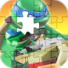 Ninja puzzle Turtle Game icon