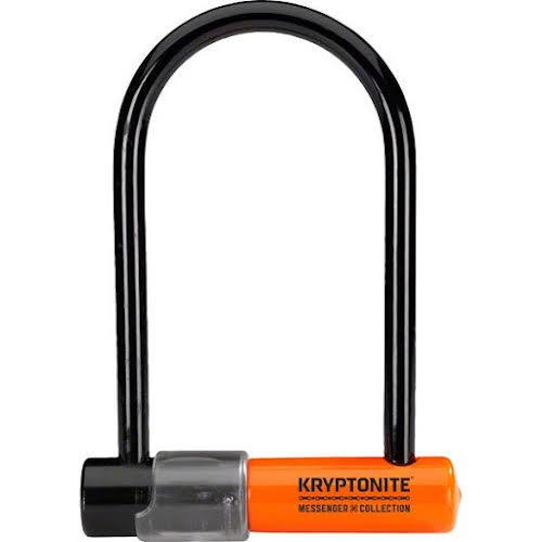 Kryptonite Messenger Mini U-Lock: Black