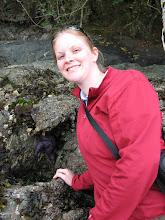 Photo: Day 3: Sarah Sharp (me) and a star fish at MacKaye Harbor Inn beach.