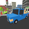 Pixel Cargo Car Speed Parking icon