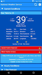 National Weather Service screenshot 0