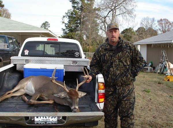 Dean Francis and a good size Buck!