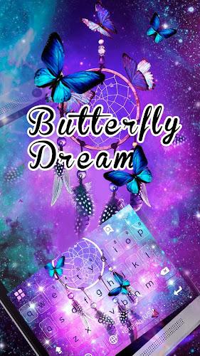 Butterflydream Keyboard Theme Android App Screenshot