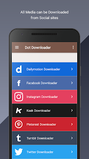 Dot Downloader: All Media Image & Video Downloader - náhled