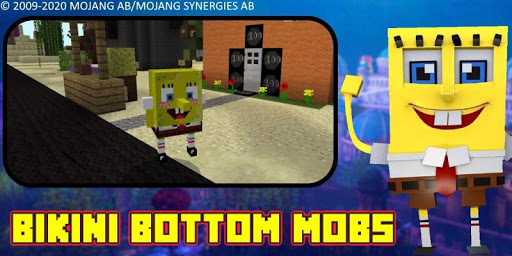 Bikini Bottom City Craft Map 7.0 screenshots 3