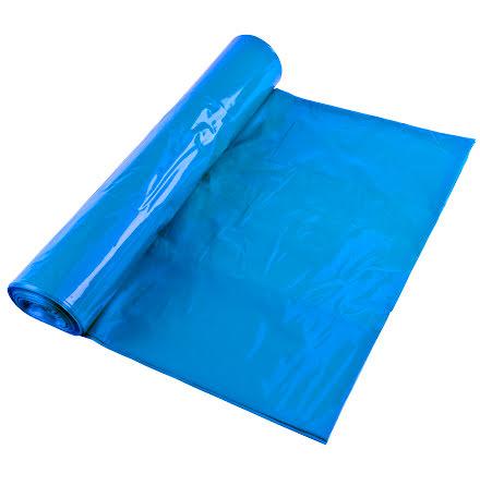 Sopsäck LLD 240l blå/vit 10/rl