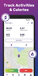 Running & Walking GPS FITAPP Mod Apk (Premium Lifetime Subscription) 2