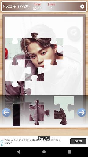 Jimin BTS Game Puzzle And Wallpapers HD 1.3 screenshots 4