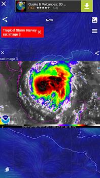 Wind Map 🌪 Hurricane Tracker (3D Globe and Alerts)