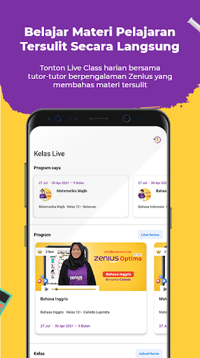 Zenius - Belajar Online LIVE | SD-SMA, UTBK, UM 2.1.5 screenshots 5