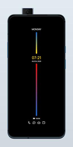 Oxygen Widget KWGT + Amoled Screen KLCK
