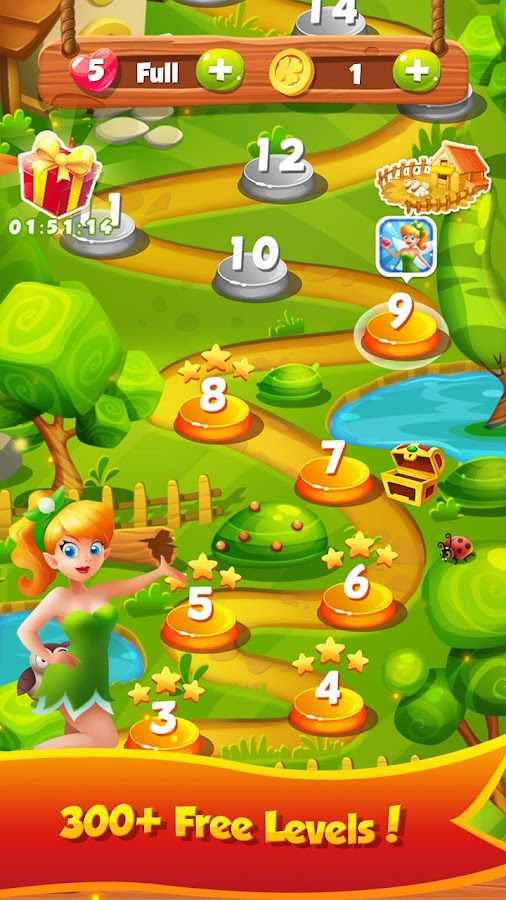 Forest Fairy Solitaire- screenshot