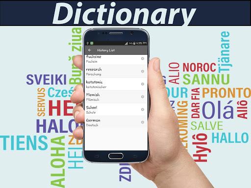 English To German Dictionary 1.6 screenshots 4