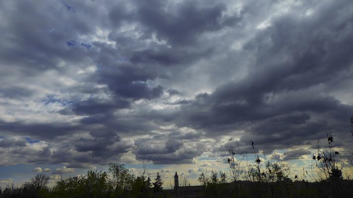 San Zeno sotto un cielo di nuvole di luiker