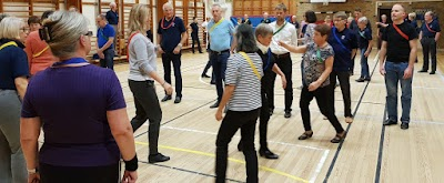 folkdansträning