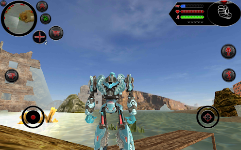Robot Shark Screenshot