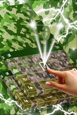 Camo Keyboard Theme - screenshot