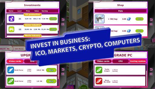 Bitcoin Idle - Tap Tap Clicker  astuce 2