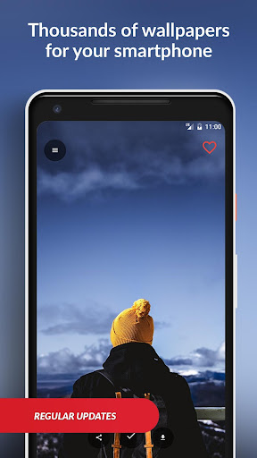 Wallpapers HD (Backgrounds) by Walldroid screenshot 2