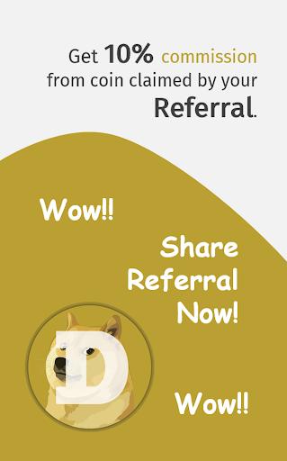 Dogefaucet: Free Dogecoin 3.3.1 screenshots 8