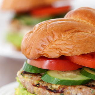 Zucchini and Feta Turkey Burgers