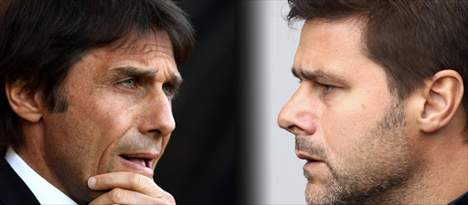 In this composite image a comparision has been made between Antonio Conte, Manager of Chelsea (L) and Mauricio Pochettino, Manager of Tottenham Hotspur. Tottenham Hotspur and Chelsea meet in one of the Emirates FA Cup Semi-Finals on April 22, 2017 at Wembley Stadium in London. Picture credits: Getty Images