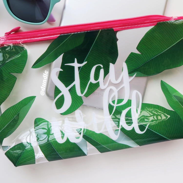 Stay Wild Pouch