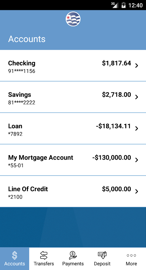 Independence National Bank- screenshot