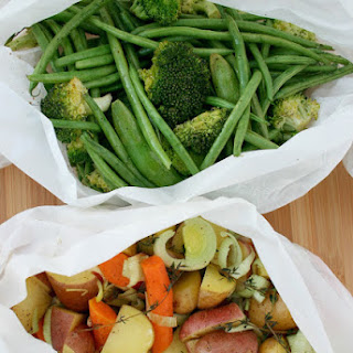 How to Roast Vegetables in Parchment Paper.