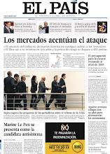 Photo: Los mercados acentúan el ataque a España y Marine Le Pen se presenta como candidata antisistema en Francia, en nuestra portada del miércoles 11 de abril http://srv00.epimg.net/pdf/elpais/1aPagina/2012/04/ep-20120411.pdf