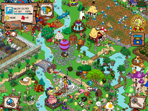 Android/PC/Windows的Smurfs\' Village (apk) 游戏 免費下載 screenshot