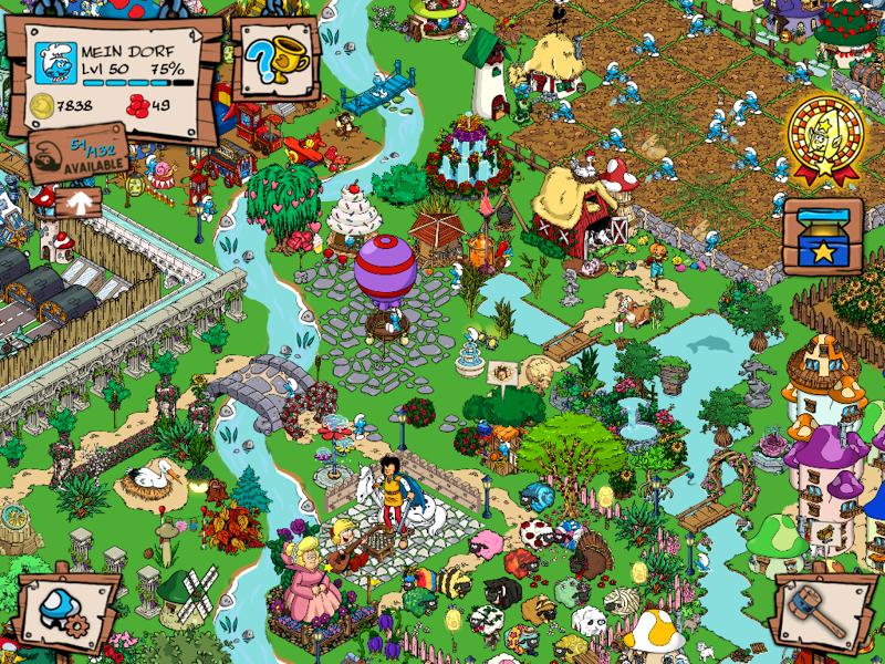 Smurfs' Village Screenshot 12
