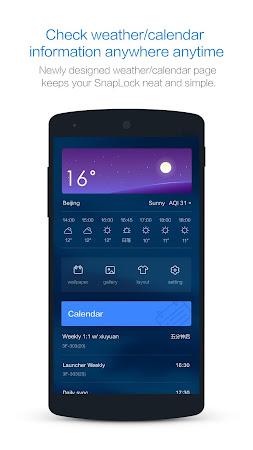 SnapLock Smart Lock Screen 1.0.0 screenshot 651421