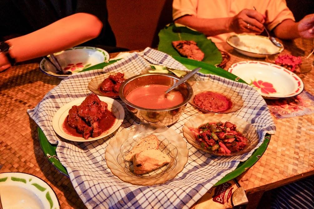 Makanan di Timpo Duluk Belitong