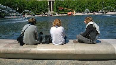 Photo: Фонтан, Национальная аллея в Вашингтоне
