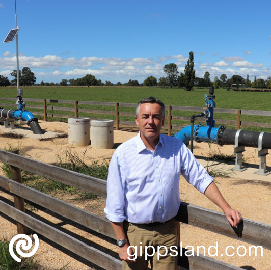 Federal Member for Gippsland Darren Chester has welcomed a further $2.5 million in Federal Government funding for the Macalister Resilience and Critical Infrastructure project